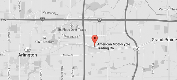 American Motorcycle Trader - Used Harley Davidson Motorcycles Location Map