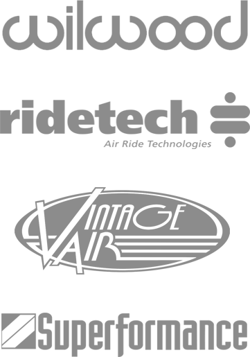 Wilwood, Ridetech, Vintage Air, Superformance