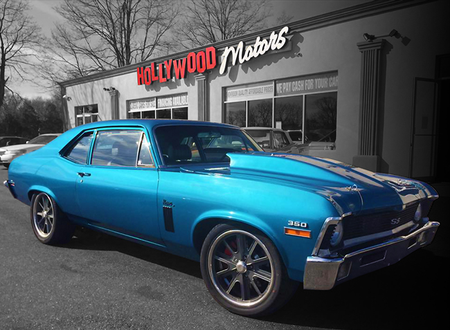 Classic cars for sale long island muscle cars for Hollywood motors west babylon