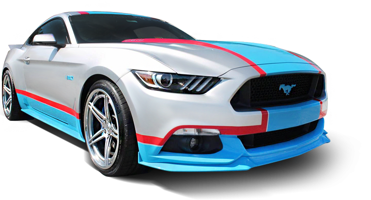 Petty's Garage Mustang