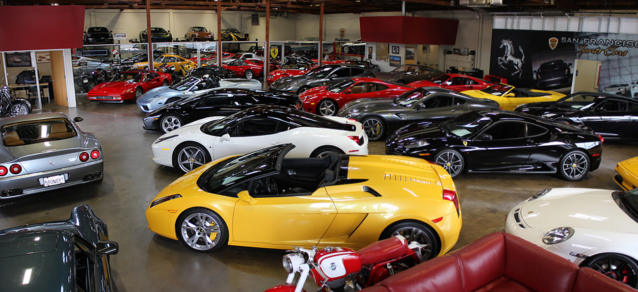 Inventory San Francisco Sports Cars - Sports cars pics