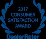 Dealer Rater - 2017 Consumer Satisfaction Award