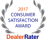 Dealer Rater - 2017 Consumer Satisfaction Award