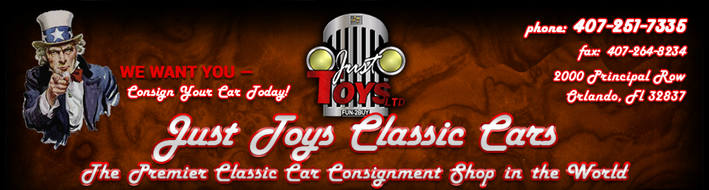 Just Toys Classic Cars - The Premier Classic Car Consignment Shop in the World