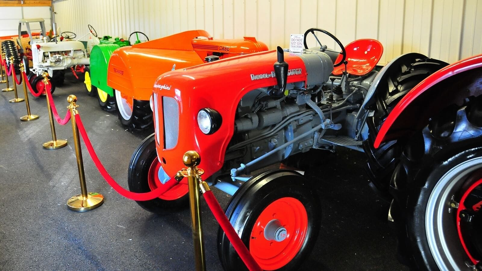 Vint tractors